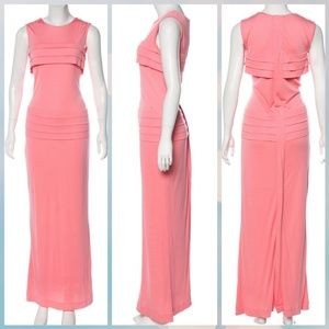 Chanel Pink Maxi Dress Gown SZ FR 40 US 8